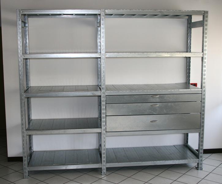 Mobili Lavelli: Scaffali metallici ikea usati