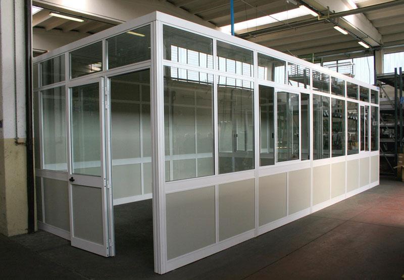 Soppalchi tettoie e scale per l 39 industria a bologna for Ufficio usato